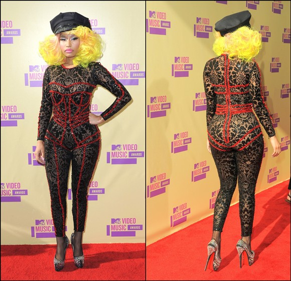 Nicki Minaj Feet Size http://blog.arielsimone.com/post/33478263973/vmas-red-carpet